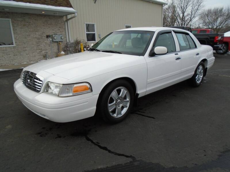 2011 Ford Crown Victoria for sale at Ritchie Auto Sales in Middlebury IN