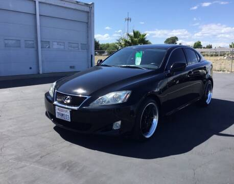 2008 Lexus IS 250 for sale at My Three Sons Auto Sales in Sacramento CA