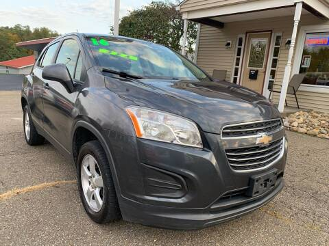 2016 Chevrolet Trax for sale at G & G Auto Sales in Steubenville OH
