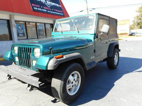 1995 Jeep Wrangler for sale at Super Sports & Imports in Jonesville NC