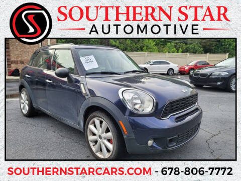 2012 MINI Cooper Countryman for sale at Southern Star Automotive, Inc. in Duluth GA