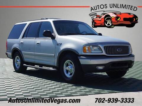 2000 Ford Expedition for sale at Autos Unlimited in Las Vegas NV