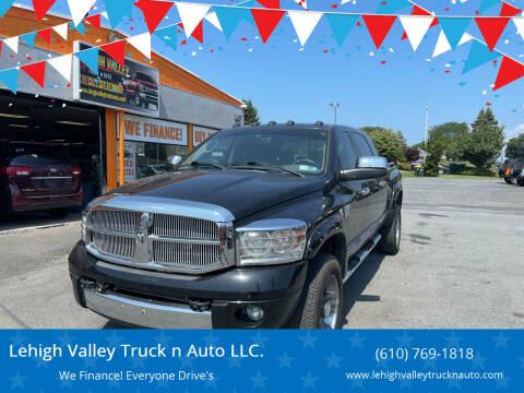 2008 Dodge Ram Pickup 2500 for sale at Lehigh Valley Truck n Auto LLC. in Schnecksville PA