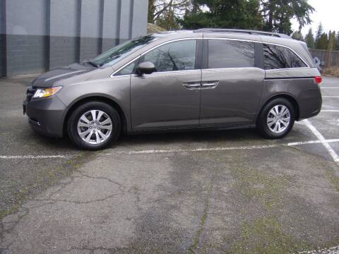 2016 Honda Odyssey for sale at Western Auto Brokers in Lynnwood WA
