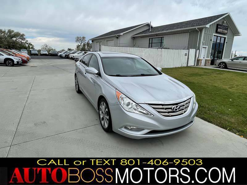 2013 Hyundai Sonata for sale at Auto Boss in Woods Cross UT