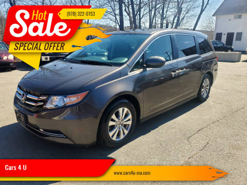 2015 Honda Odyssey for sale at Cars 4 U in Haverhill MA