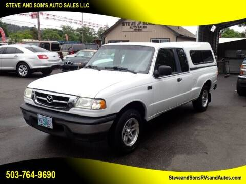 2003 Mazda Truck for sale at Steve & Sons Auto Sales in Happy Valley OR