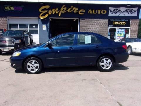 2006 Toyota Corolla for sale at Empire Auto Sales in Sioux Falls SD