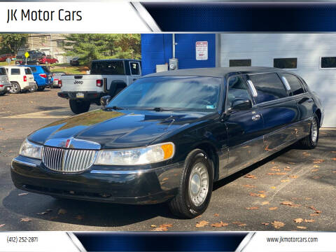 2000 Lincoln Town Car for sale at JK Motor Cars in Pittsburgh PA