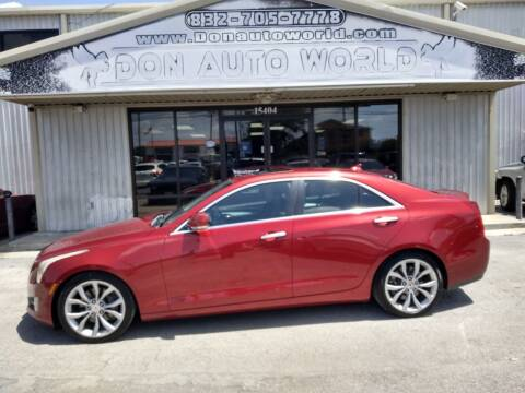 2014 Cadillac ATS for sale at Don Auto World in Houston TX
