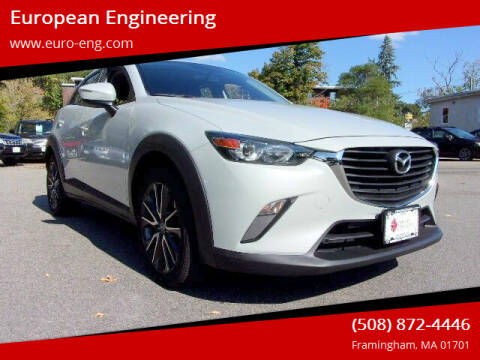2017 Mazda CX-3 for sale at European Engineering in Framingham MA