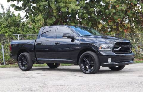 2018 RAM Ram Pickup 1500 for sale at No 1 Auto Sales in Hollywood FL