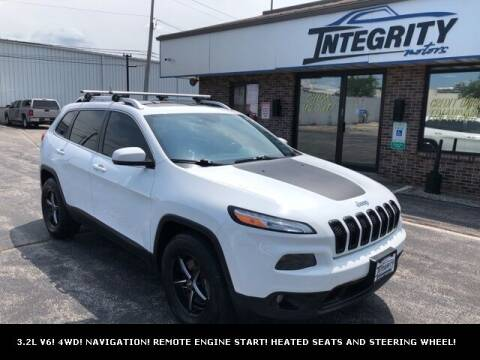 2014 Jeep Cherokee for sale at Integrity Motors, Inc. in Fond Du Lac WI
