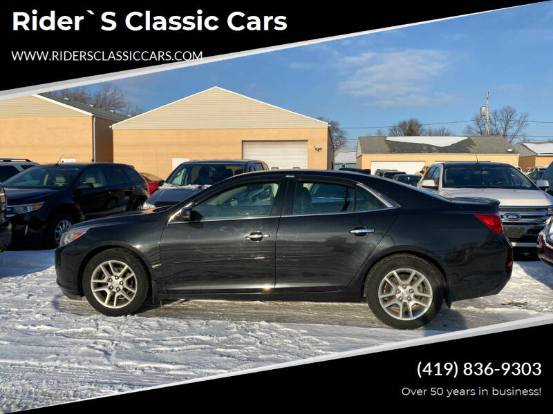 2014 Chevrolet Malibu for sale at Rider`s Classic Cars in Millbury OH