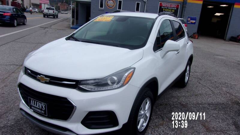 2017 Chevrolet Trax for sale at Allen's Pre-Owned Autos in Pennsboro WV