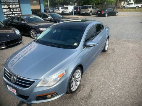 2010 Volkswagen CC for sale at Trimax Auto Group in Norfolk VA
