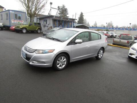 2010 Honda Insight for sale at ARISTA CAR COMPANY LLC in Portland OR