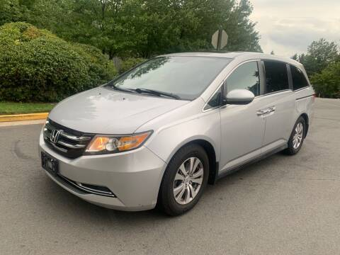 2014 Honda Odyssey for sale at Dreams Auto Group LLC in Sterling VA
