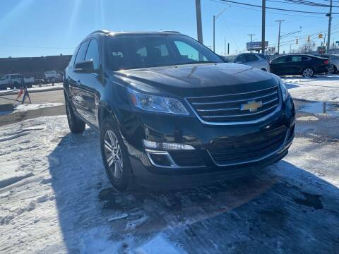 2017 Chevrolet Traverse for sale at M-97 Auto Dealer in Roseville MI