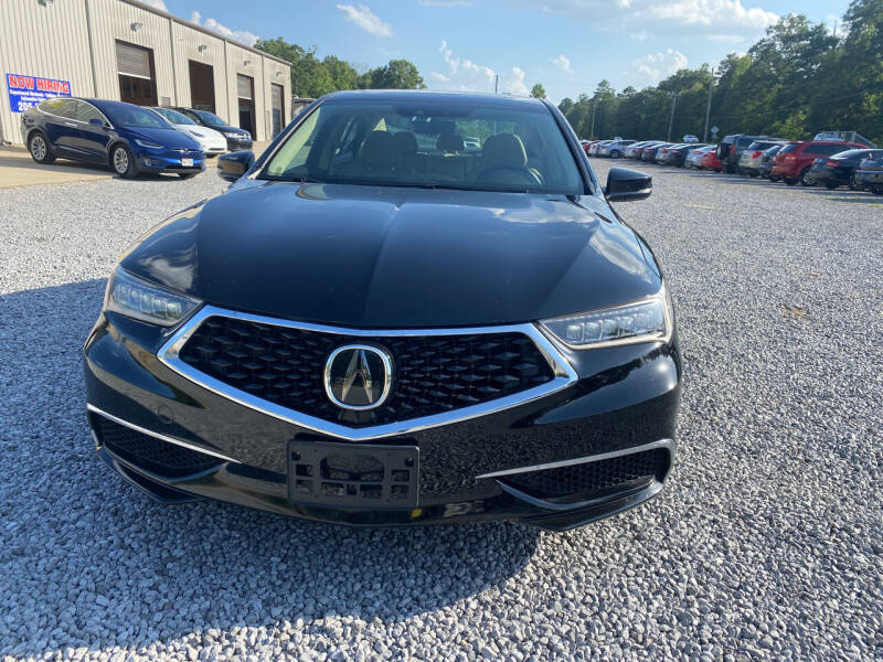 2018 Acura TLX for sale at Alpha Automotive in Odenville AL