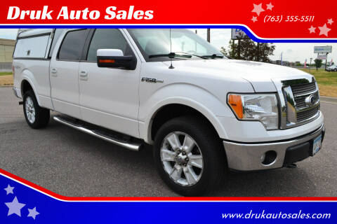2010 Ford F-150 for sale at Druk Auto Sales in Ramsey MN