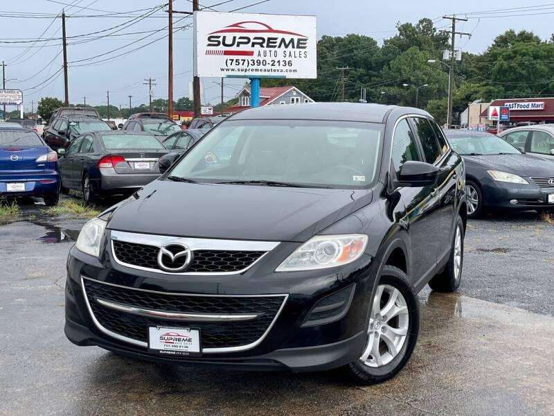 2011 Mazda CX-9 for sale at Supreme Auto Sales in Chesapeake VA