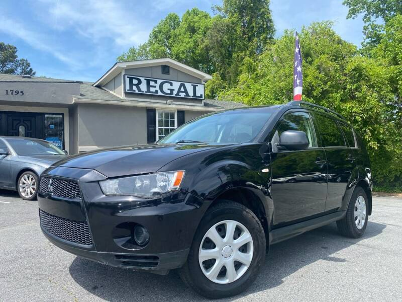 2012 Mitsubishi Outlander for sale at Regal Auto Sales in Marietta GA