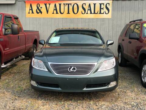 2007 Lexus LS 460 for sale at A & V AUTO SALES LLC in Marysville WA