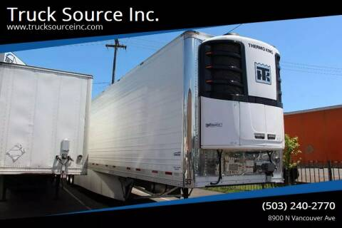 2020 VANGUARD REEFER for sale at Truck Source Inc. in Portland OR