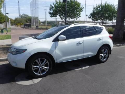 2010 Nissan Murano for sale at J & E Auto Sales in Phoenix AZ