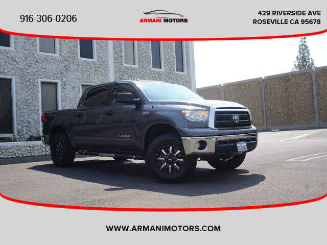 2013 Toyota Tundra for sale at Armani Motors in Roseville CA