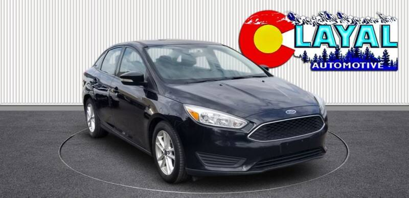 2016 Ford Focus for sale at Layal Automotive in Englewood CO