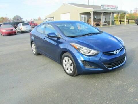2016 Hyundai Elantra for sale at 412 Motors in Friendship TN