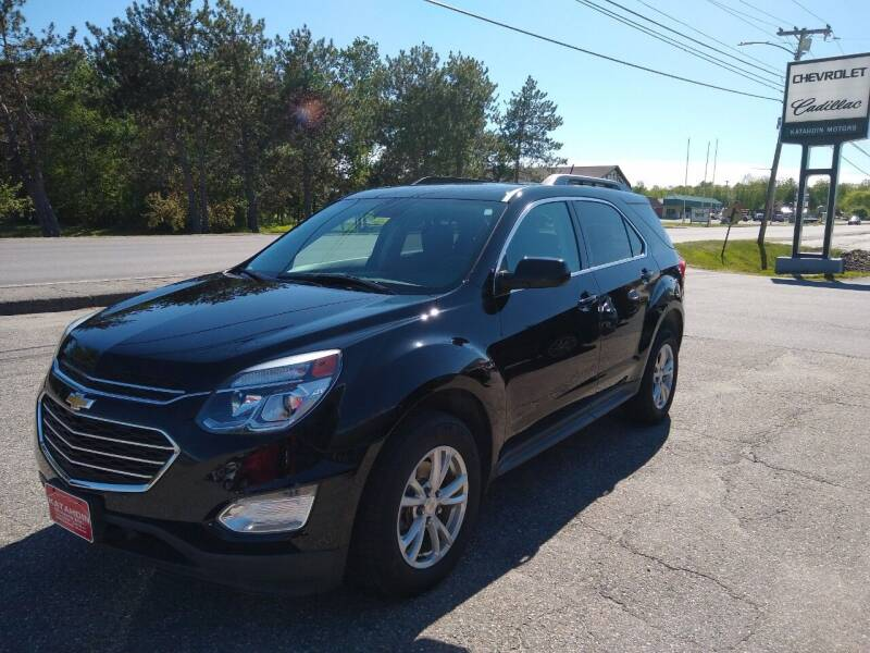 2017 Chevrolet Equinox for sale at KATAHDIN MOTORS INC /  Chevrolet Sales & Service in Millinocket ME