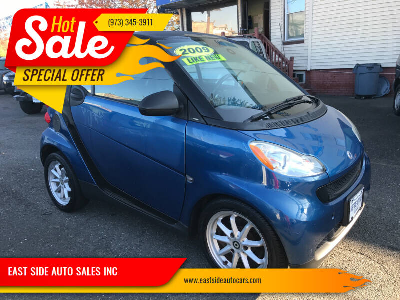 2009 Smart fortwo for sale at EAST SIDE AUTO SALES INC in Paterson NJ