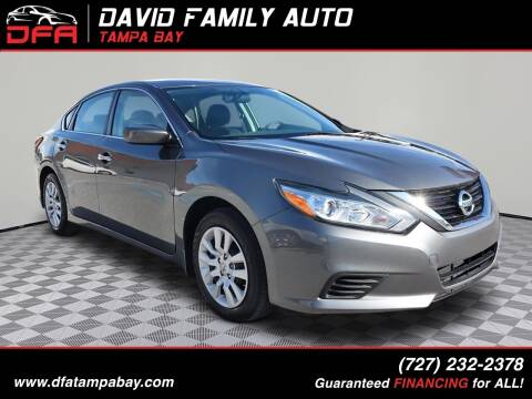 2018 Nissan Altima for sale at David Family Auto, Inc. in New Port Richey FL