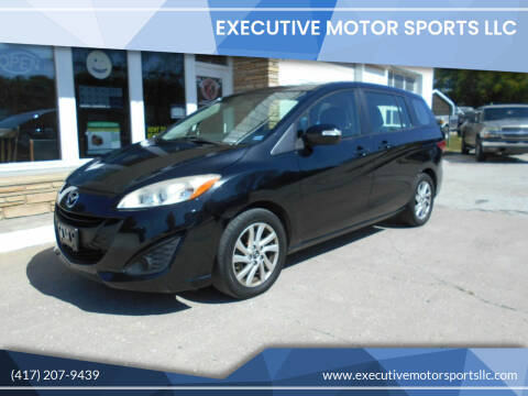 2013 Mazda MAZDA5 for sale at Executive Motor Sports LLC in Sparta MO