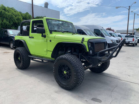 2017 Jeep Wrangler for sale at Best Buy Quality Cars in Bellflower CA