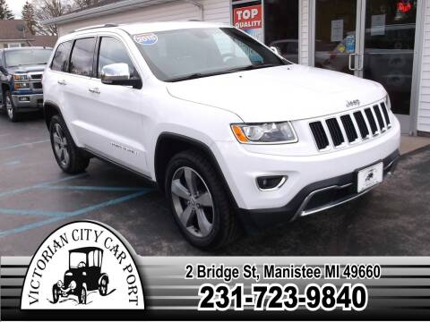 2015 Jeep Grand Cherokee for sale at Victorian City Car Port INC in Manistee MI