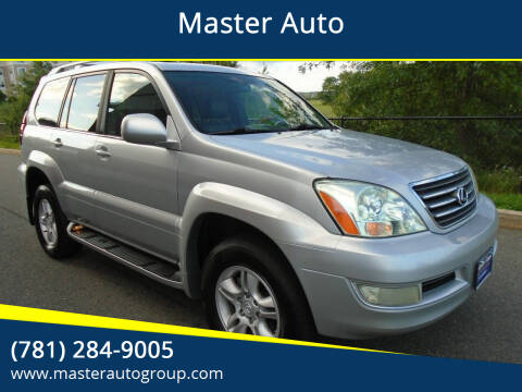2007 Lexus GX 470 for sale at Master Auto in Revere MA