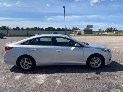 2017 Hyundai Sonata for sale at C & H AUTO SALES WITH RICARDO ZAMORA in Daleville AL