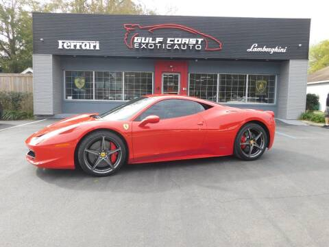 2011 Ferrari 458 Italia for sale at Gulf Coast Exotic Auto in Biloxi MS