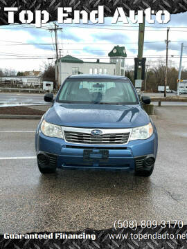 2009 Subaru Forester for sale at Top End Auto in North Atteboro MA