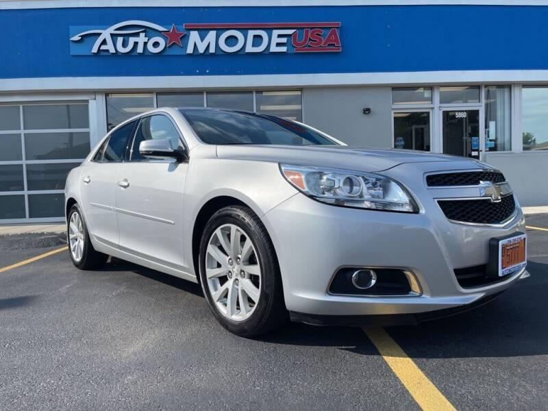 2013 Chevrolet Malibu for sale at AUTO MODE USA in Burbank IL