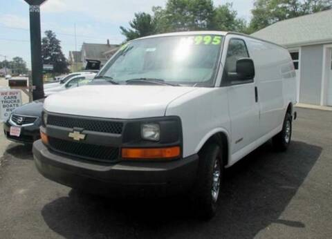2005 Chevrolet Express Cargo for sale at Auto Towne in Abington MA