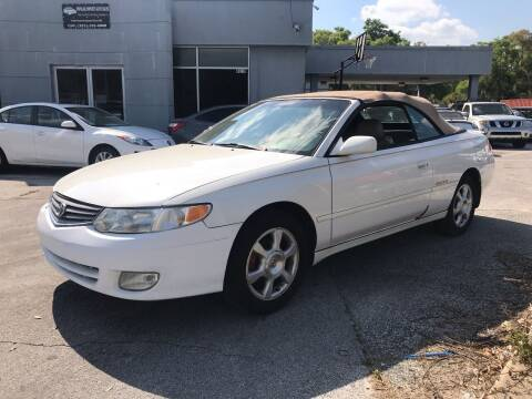 2002 Toyota Camry Solara for sale at Popular Imports Auto Sales in Gainesville FL