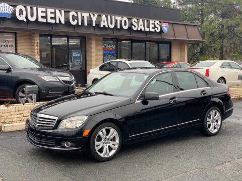 2011 Mercedes-Benz C-Class for sale at Queen City Auto Sales in Charlotte NC