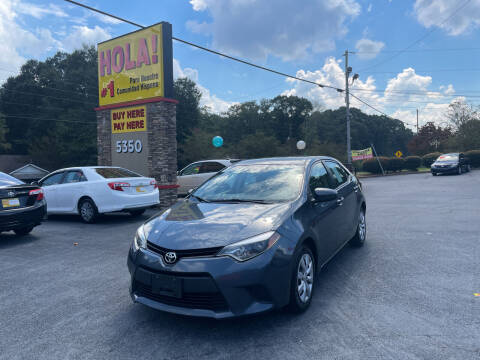2014 Toyota Corolla for sale at No Full Coverage Auto Sales in Austell GA