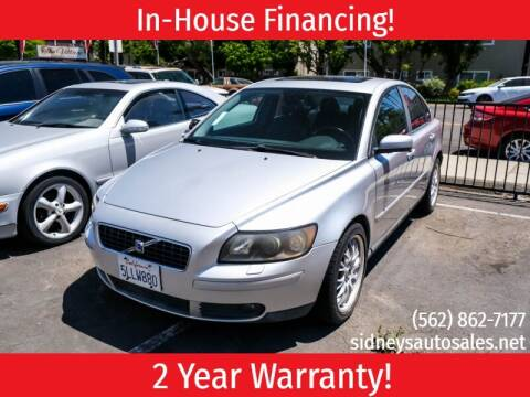 2005 Volvo S40 for sale at Sidney Auto Sales in Downey CA
