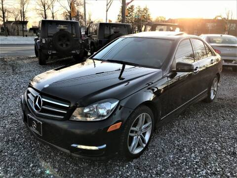2014 Mercedes-Benz C-Class for sale at Ultimate Motors in Port Monmouth NJ